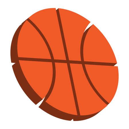 nba: Basketball vector icon