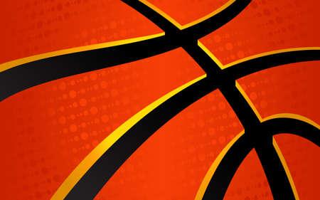 canestro basket: Sfondo vettore basket a tema