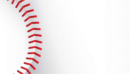 sports equipment: Baseball vector background Illustration