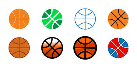 basketballs: Basketballs Illustration