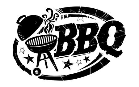 barbeque grill: BBQ vector icon