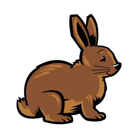 Cartoon bunny rabbit vector
