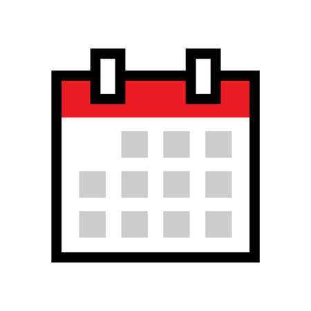 appointments: Calendar Vector Icon