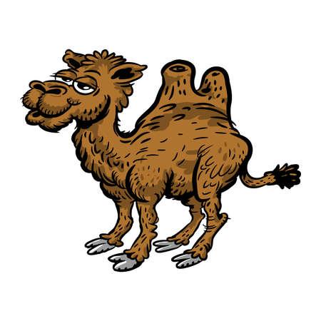 camel hump: Camel cartoon