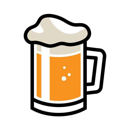 stein: Beer Mug Vector Icon