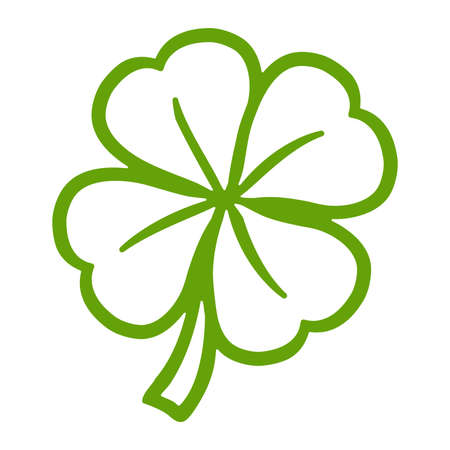 patric icon: Lucky Irish clover leaf