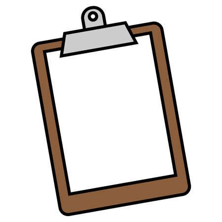 Clipboard vector