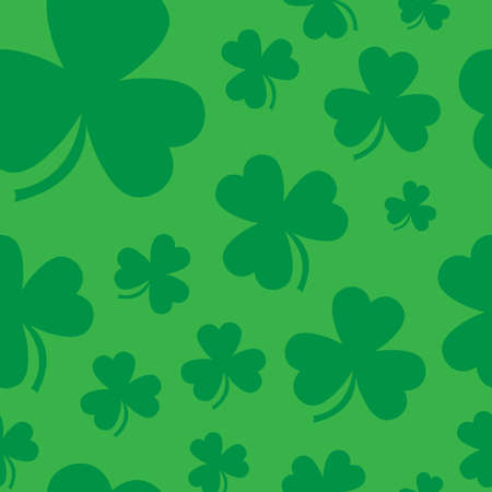 patric: Lucky Irish clover leaf