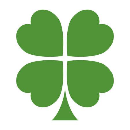 アイルランドの幸運のクローバー リーフ