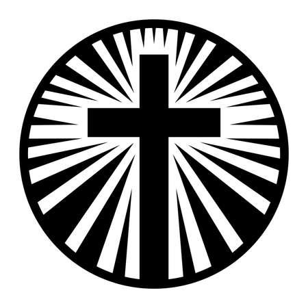 Christian Cross Ilustracja