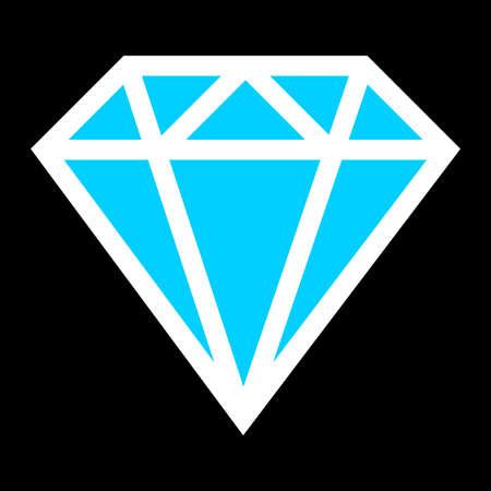 karat: Diamond vector icon