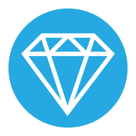 Diamond vector icon Фото со стока - 49536955