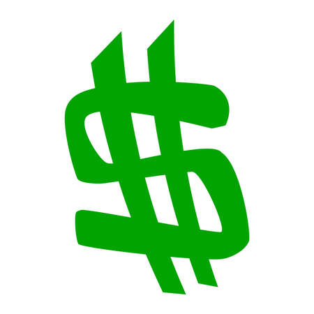 dollar sign vector icon royalty free cliparts vectors and stock rh 123rf com Dollar Sign Clip Art Idea Dollar Sign Border Clip Art