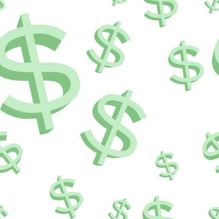 Dollar Sign Vector Icon  イラスト・ベクター素材
