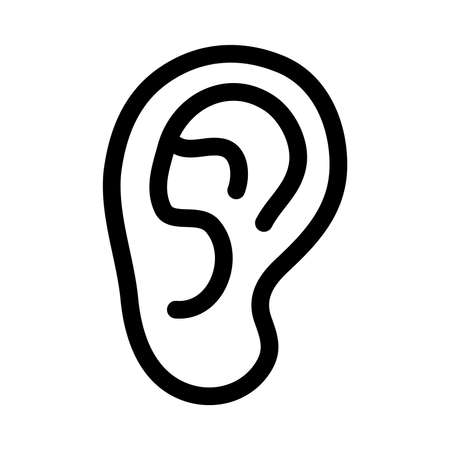 耳ベクトル アイコン 写真素材 - 49668301