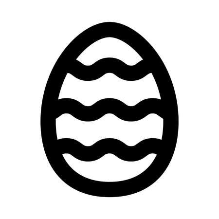 부활절 달걀 벡터 아이콘 일러스트