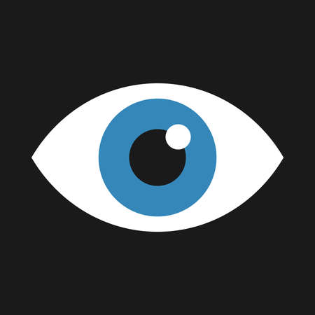eye vector: Eye Vector Icon Illustration