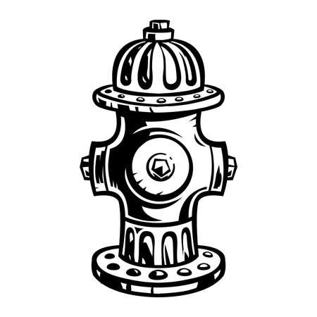 Fire Hydrant Иллюстрация