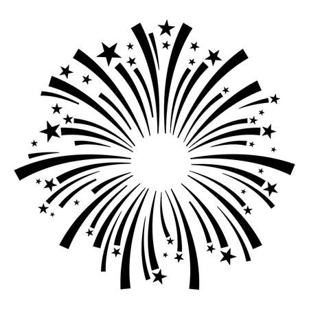 fireworks vector icon royalty free cliparts vectors and stock rh 123rf com fireworks vector free fireworks vector art