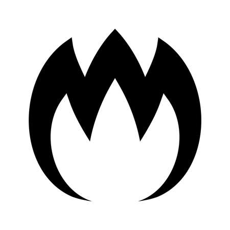 flame: Flame Vector Icon Illustration