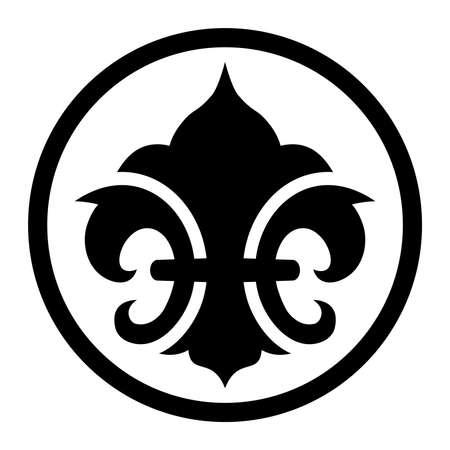 symbol fleur de lis: Fleur de lis symbol