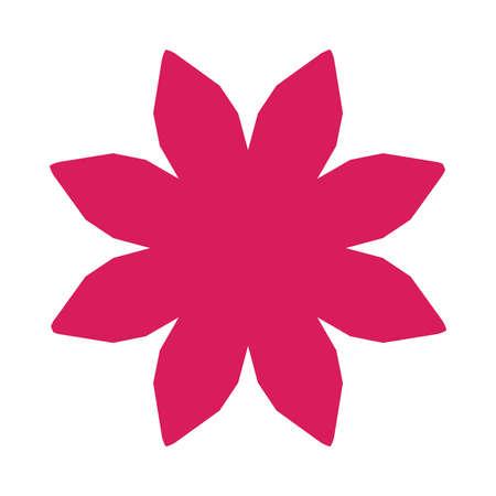 fuschia: Flower Vector Icon