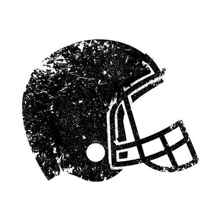 Football Helmet Vector Icon Reklamní fotografie - 49669138
