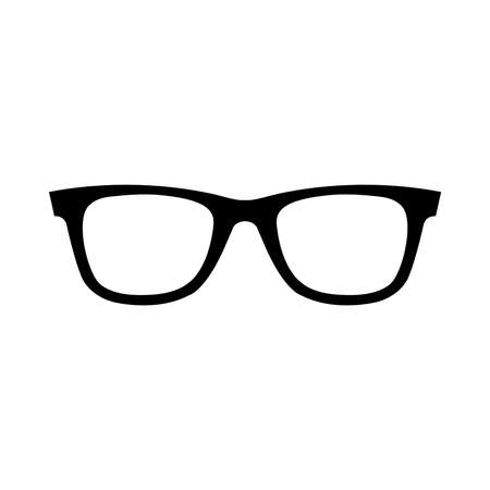 black eyes: Glasses Vector Icon