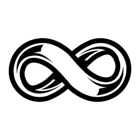 bucle: S�mbolo Loop Infinito Vectores