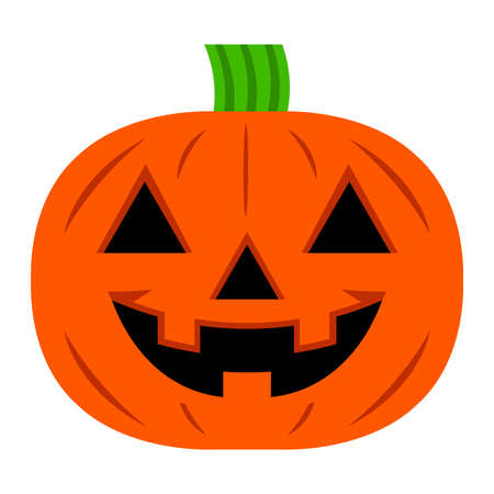 jack o: Jack O Lantern Pumpkin Vector Icon