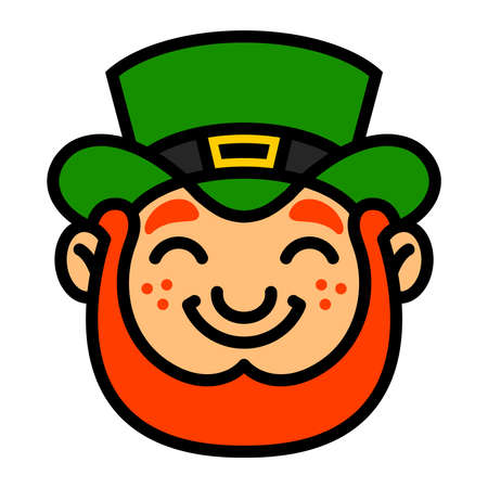 leprechaun hat: Leprechaun cartoon vector illustration Illustration