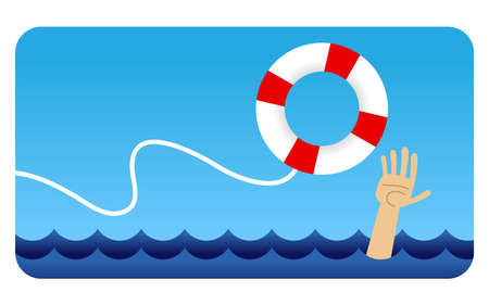 Life Preserver Stock Illustratie