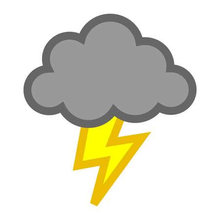 bolt: Storm cloud lightning bolt