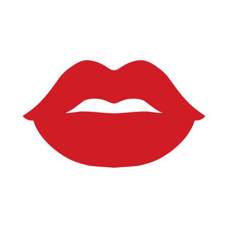 Sexy Lips Vector Icon