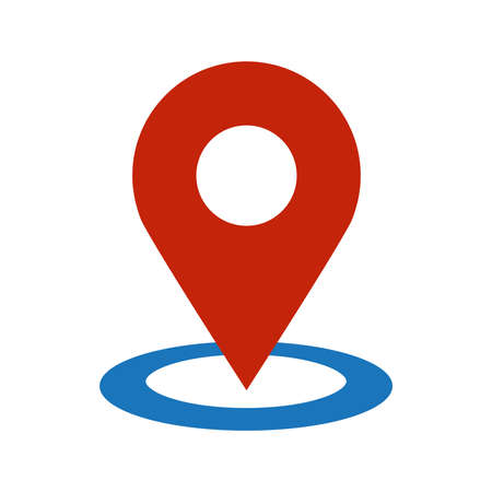 Location Pin Vector Icon Illustration