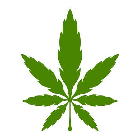 rasta: Marijuana Pot Weed Leaf Symbol