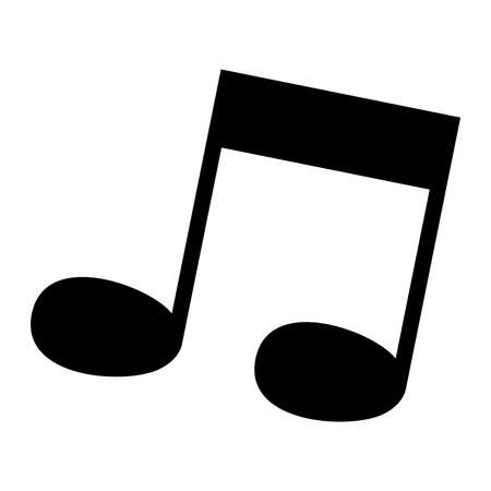 Music Note Vector Icon Royalty Free Cliparts Vectors And Stock