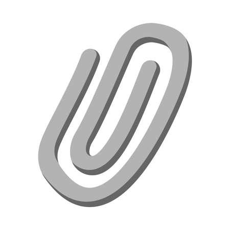 Paper Clip Vector Icon