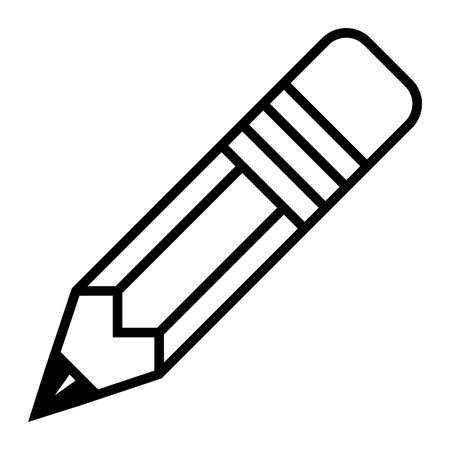 Pencil vector icon