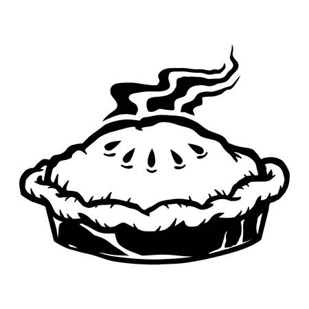 Pie Vector Icon