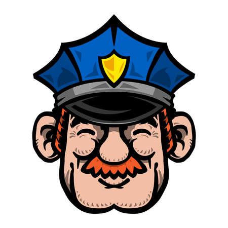 Cartoon Cop Police Officer
