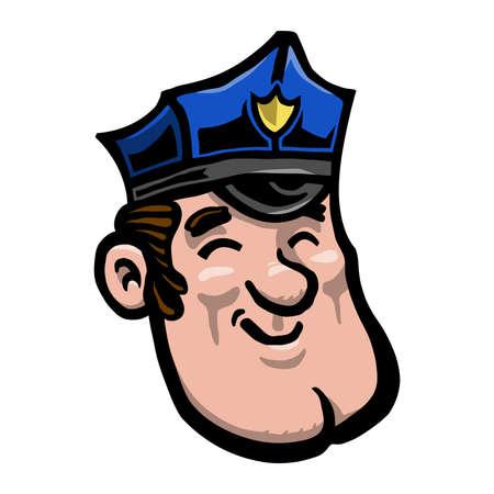 deputy: Cartoon Cop Police Officer
