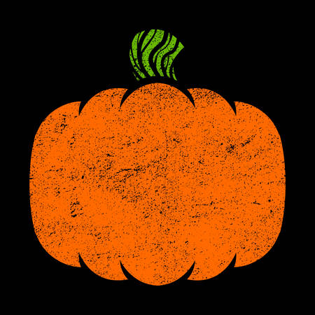glowing carved: Pumpkin Vector Icon