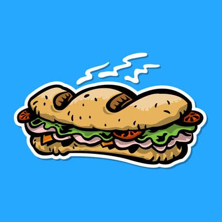 sub: Sub sandwich