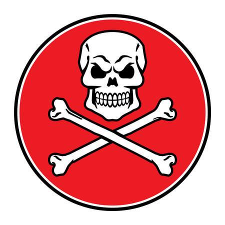 skull vector: Skull Vector Icon Illustration