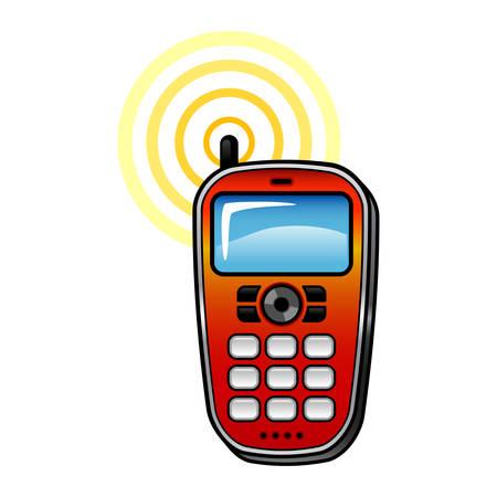휴대 전화 무전기 무전기