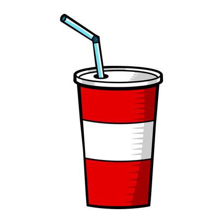Soda pop fountain drink