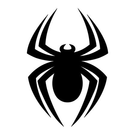 creep: Spider vector icon