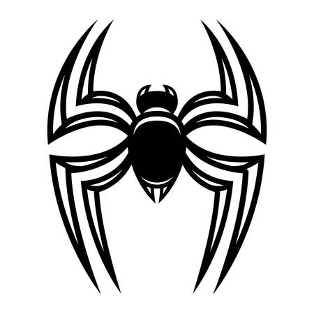 vermin: Spider vector icon