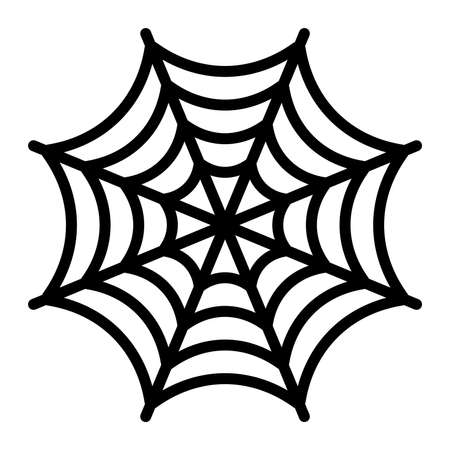 Spider Web Illustration